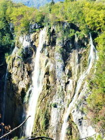 Большой Плитвицкий водопад - памятник природы