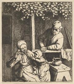 Адриан ван Остаде, Кукла, 1679
