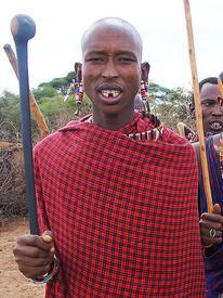 Вождь племени масаи