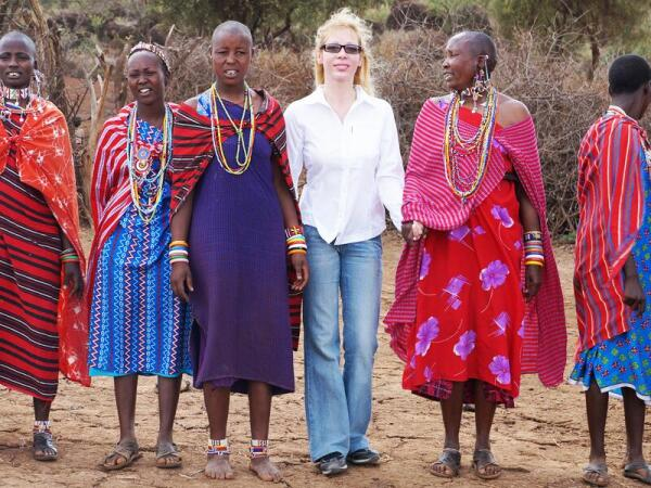Традиционный танец масаи