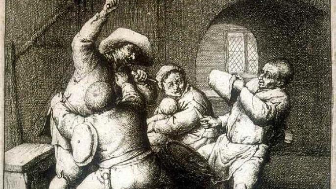 Адриан ван Остаде, Ссора 1653