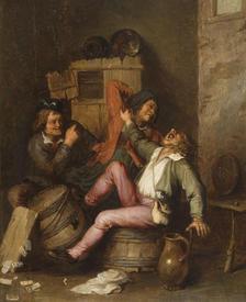 Адриан ван Остаде, Крестьянская драка