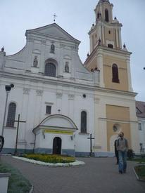 Католический костёл города Гродно