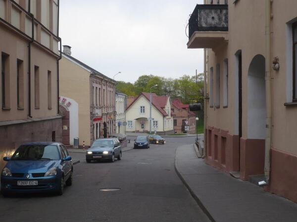 Старинная улочка в Гродно