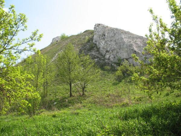 Гора, где располагался Шатрищенский скит