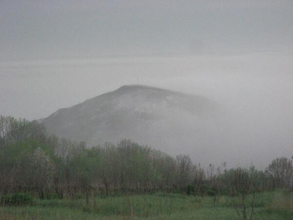 Меловая гора в Шатрищах