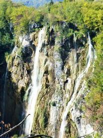 Самый большой водопад Плитвицких озёр