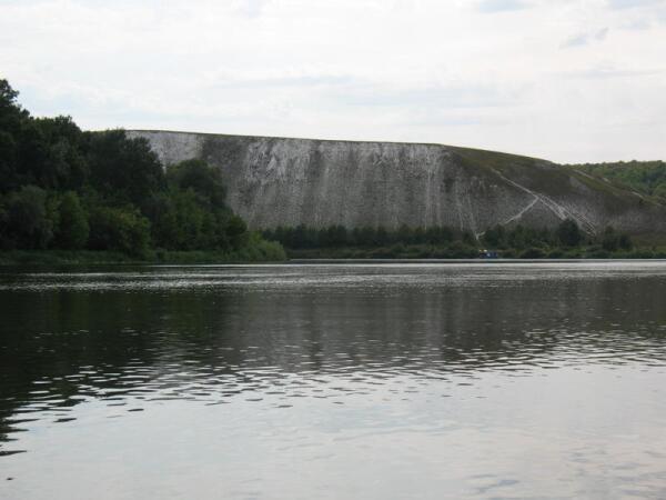 Вид на Белогорье со стороны Дона