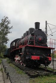 Паровоз ЭР-730-47. Построен в 1935 г. на брянском заводе