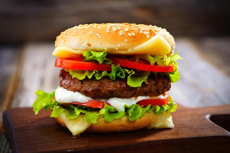 как приготовить гамбургер телятины