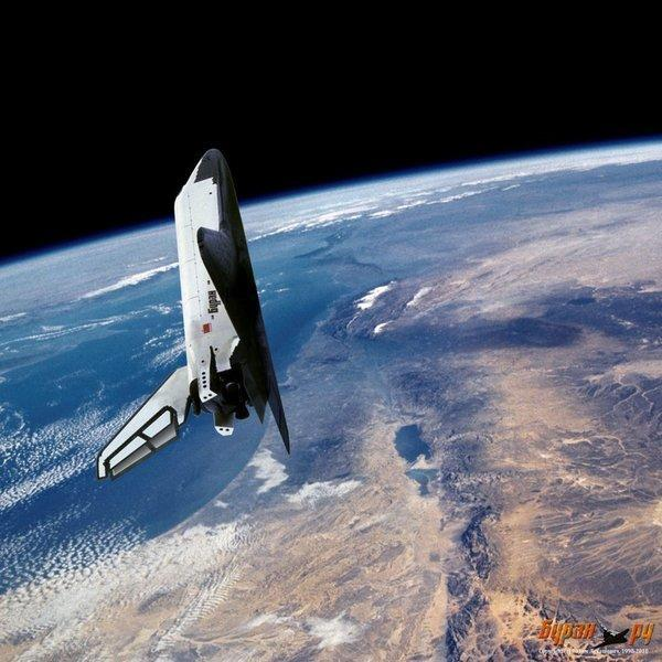 Полет на орбите