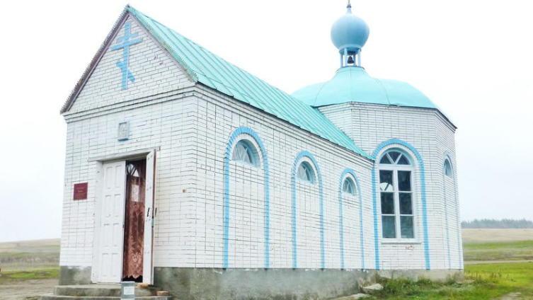 Храм, возведённый Александром Шадриным