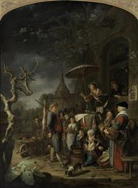 Герард Доу, Шарлатан, 1652
