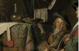 Герард Доу, «Шарлатан». О чем эта картина?