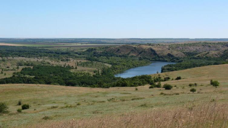 Горы на Северском Донце