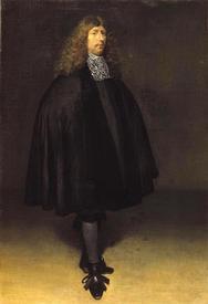 Герард Терборх (Gerard ter Borch), Автопортрет, 1668, 63х44 см, Royal Picture Gallery,  Маврикий
