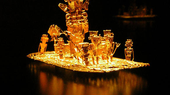 Золотой плот чибча