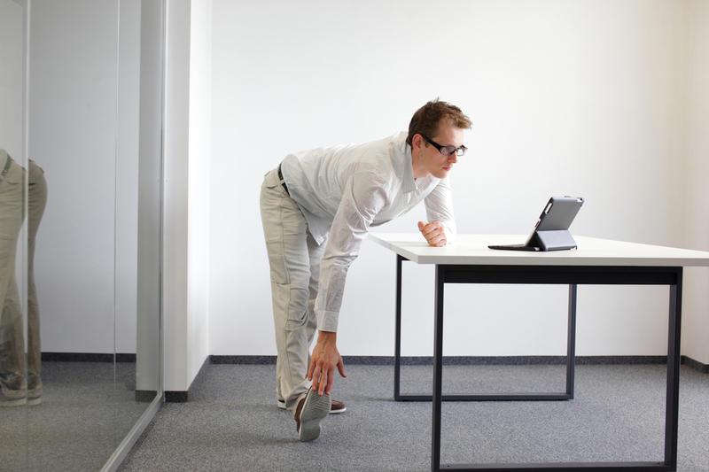 Как похудеть на рабочем месте?