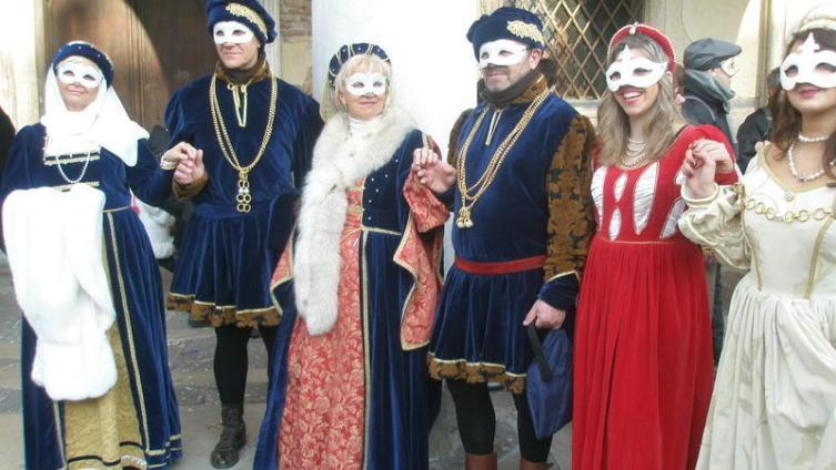 Венецианский фестиваль - многолюдно и весело