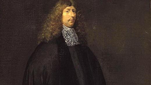 Герард Терборх, автопортрет, 1668