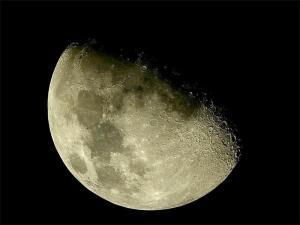Что можно разглядеть на Луне в бинокль?