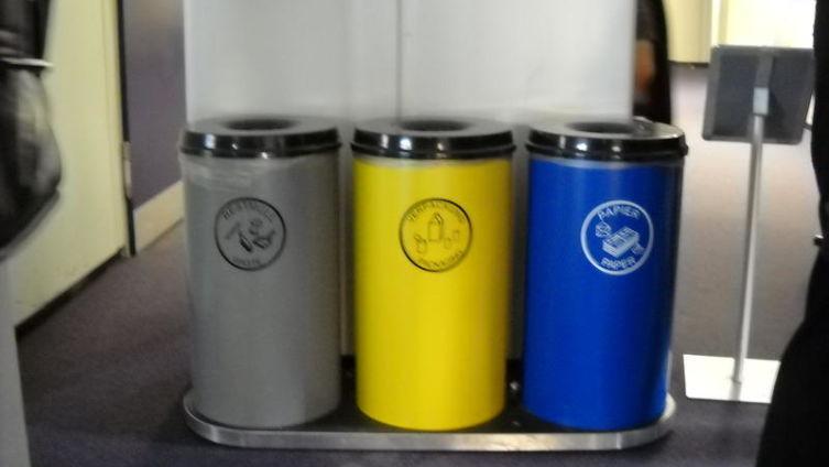 Раздельный сбор мусора по минимуму в университете