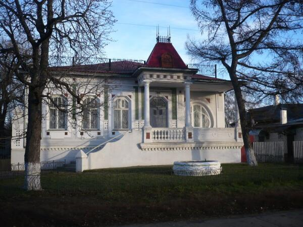 Дом Полякова. Ныне - картинная галерея