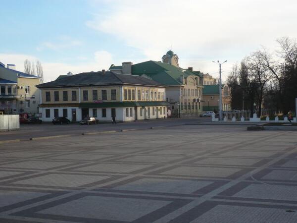 В центре Борисоглебска