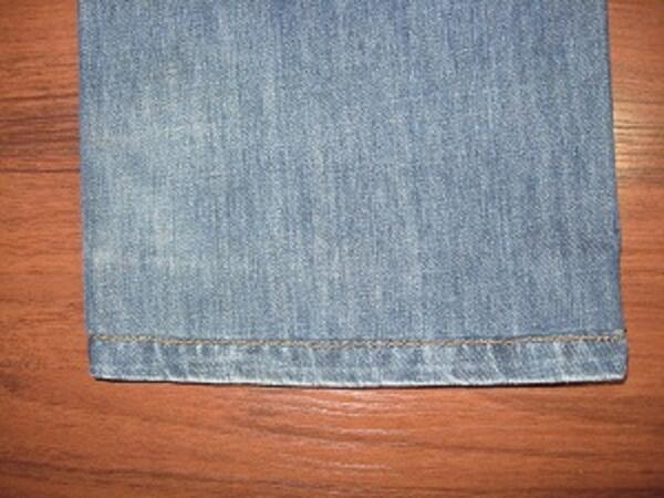 Как подшить джинсы, рис. 2