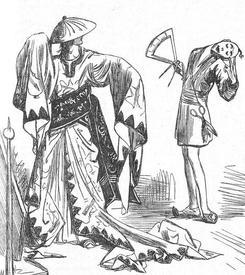 Портные Лапуты долго измеряли размеры Гулливера, делали сложные математические расчёты, но в итоге пошили ему безобразный костюм.