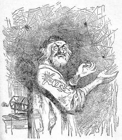 Кстати, говорят Людовик XIV действительно носил перчатки, пошитые из паутины.