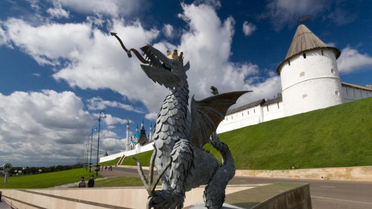 Казанский крылатый змей Зилант. Чем он знаменит?