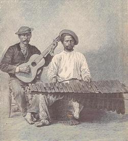 Маримбу изобрели в Мексике