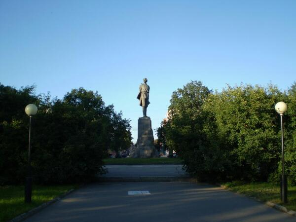 Площадь М.Горького
