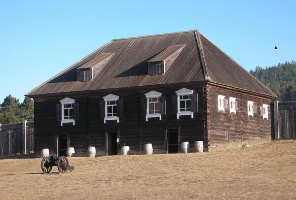 Дом Кускова в Росс