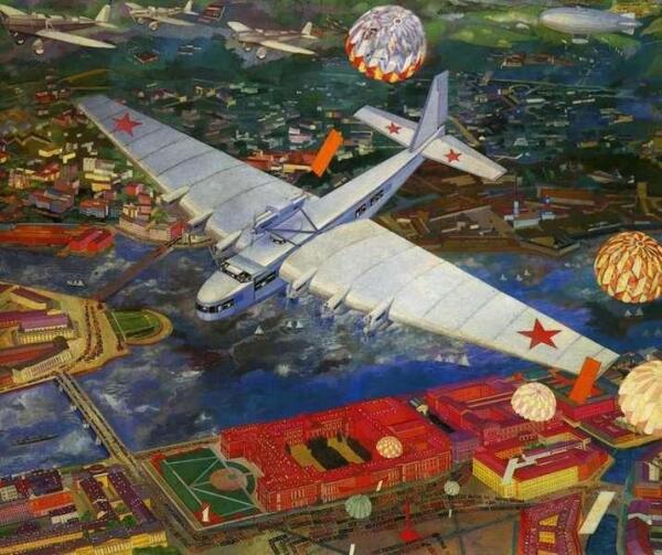 Самолет АНТ-20 (Максим Горький), 1934 год