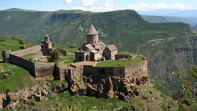 Татевский монастырь, общий вид