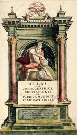 Атлас или космографические рассуждения о сотворении мира и вид сотворенного. Дуйсбург, 1595 В Электронной библиотеке РНБ