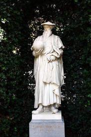 Памятник Г. Меркатору в Брюсселе