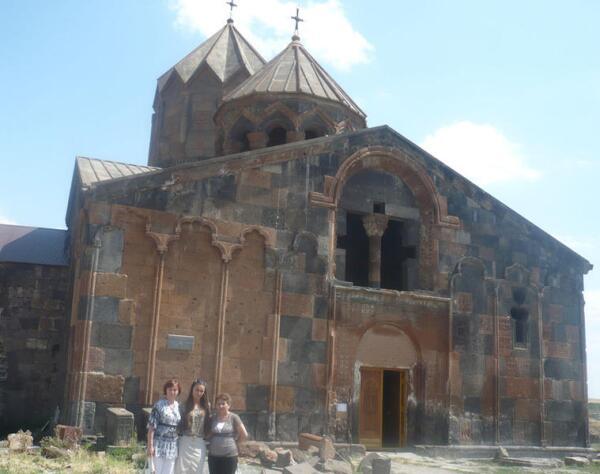 Вход в монастырь Ованаванк