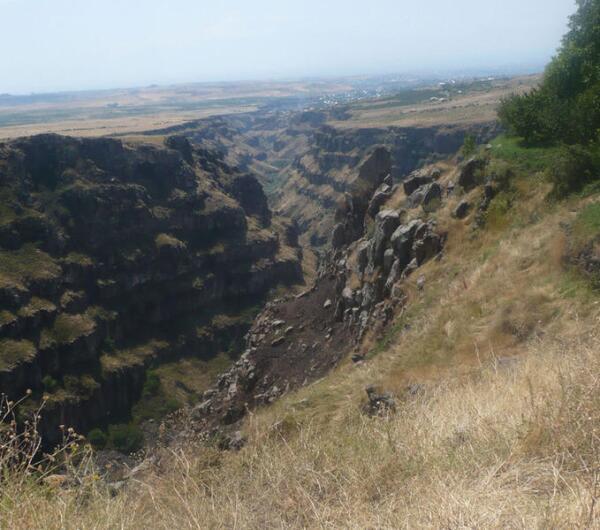 Каньон: ущелье реки Касах