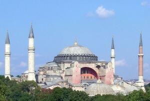 Кто восстановил купол Святой Софии? Архитектор Трдат