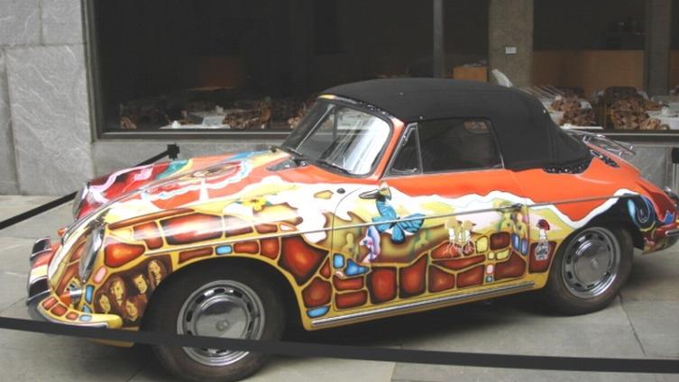 Автомобиль Дженис Джоплин - Porsche 356