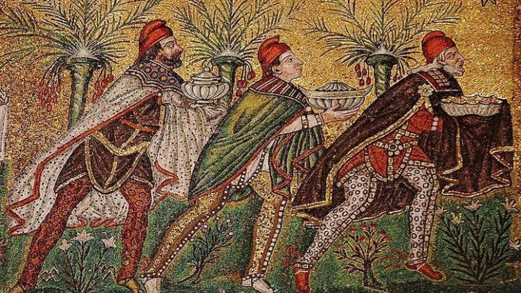 Мозаика в Сант-Аполлинаре-Нуово, Равенна, VI в.
