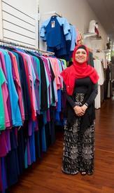 Ахида Занетти в своем магазине