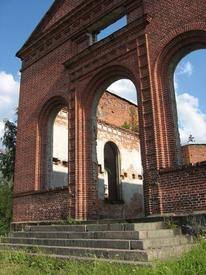 Вход в церковь с юга