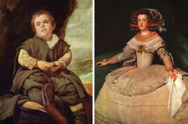 Карлик и Инфанта на портретах Диего Веласкеса