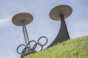 Факел Олимпийских игр в Пекине 2008