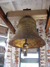 Звонница кирхи. Старый финский колокол