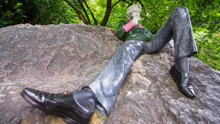 Памятник Оскару Уальду. Дублин